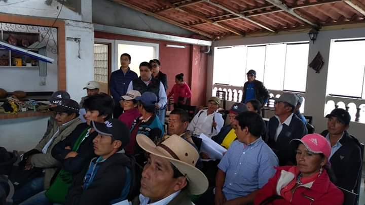 Río Blanco continúa alentando el diálogo con autoridades comunales y líderes ronderiles.