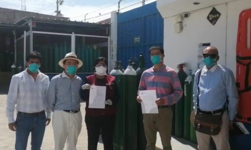 Apoyamos con un millón de litros de gas de oxígeno para pacientes con COVID-19 de la Región Piura.