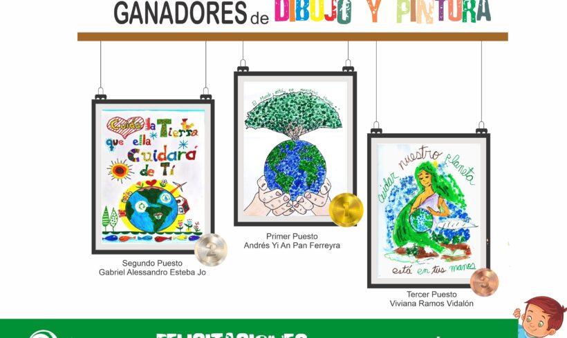 Familia Río Blanco Copper participó en I Concurso de Dibujo y Pintura.